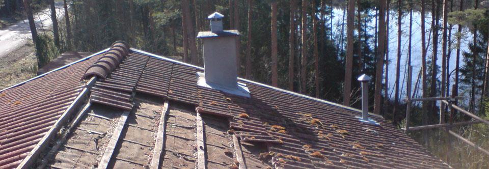 Takarbeten och takläggning